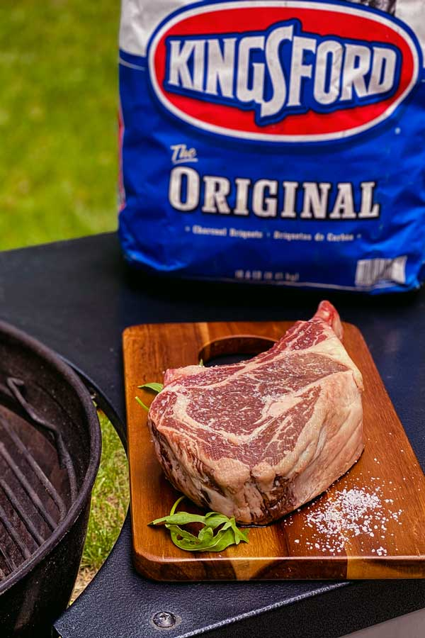How to reverse sear a steak with Kingsford charcoal