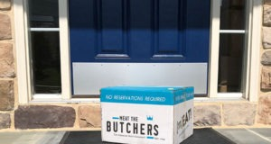 Meat the Butchers box delivered to our front door