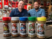 Founders of Code 3 Spices with Products