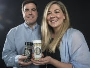 Mis Rubins Seasonings founders Ashley and Robert Landers