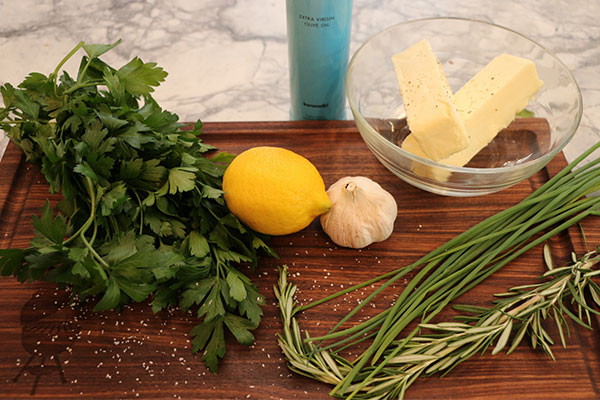 herb butter recipe ingredients