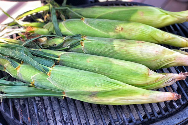 step 2 of grilled mexican street corn recipe