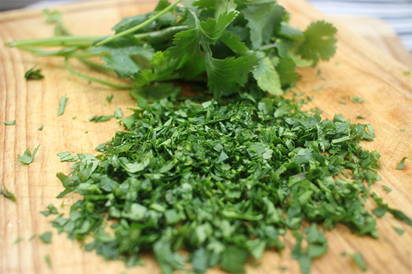 sliced-cilantro-pico-de-gallo-recipe