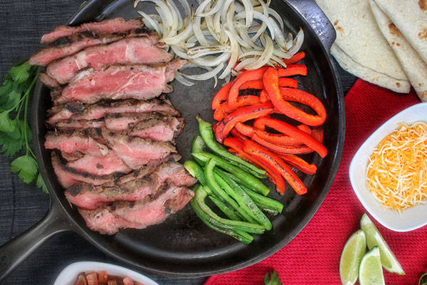 Steak Fajitas Recipe Grillseeker How To Make Steak Fajitas Recipe
