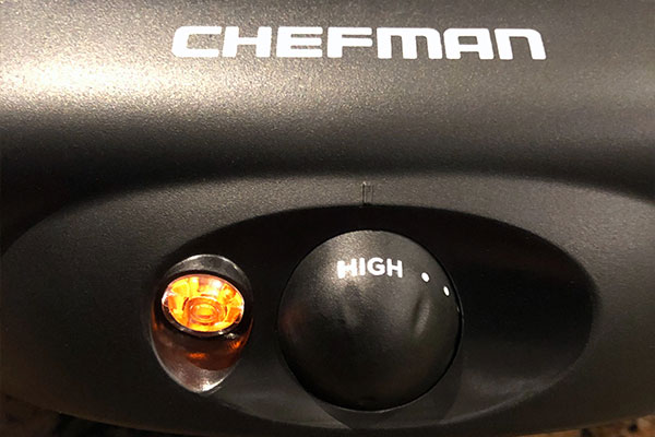 Chefman Electric Grill temperature gauge