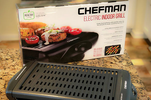 Chefman Electric Indoor Grill Review