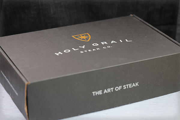 Holy Grail Steak Company Box