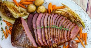 Smoked-Sous-Vide-Corned-Beef-with-Beer-Braised-Cabbage