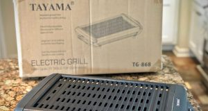 Review Tayama Electric Grill and box