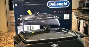 Delonghi Perfecto Indoor Grill with box