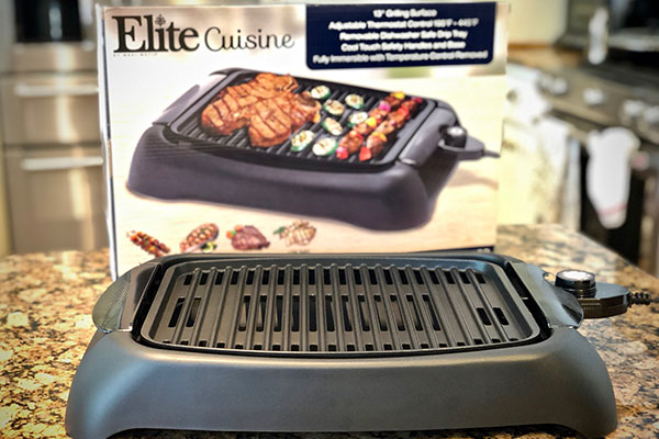 Elite Cuisine Electric Grill