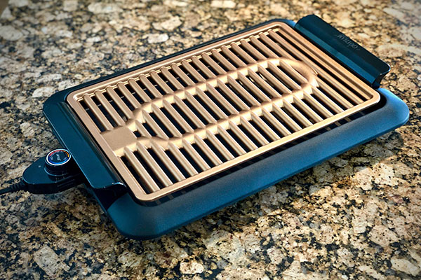 Heating element in Gotham Electric Grill review