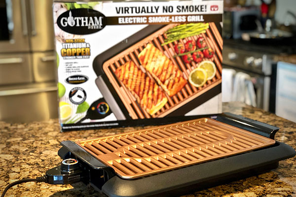 Gotham Electric Grill with package