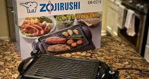 Zojirushi Electric Indoor Grill with box