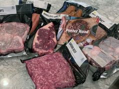 Meat selection ordered from Porter Road
