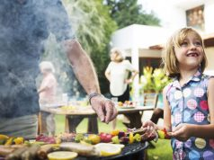 Memorial Day Grilling Guide: Quick and Easy Tips for Your Cookout, girl grilling with her dad