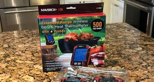 Maverick XR50 Remote BBQ & Smoker Thermometer with packaging