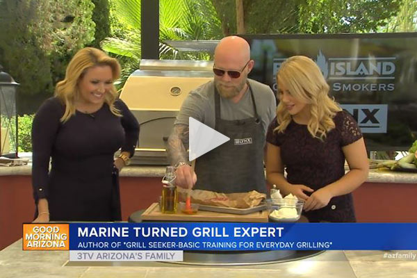 Link to video of Matt cooking tri-tip on Good Morning Arizona