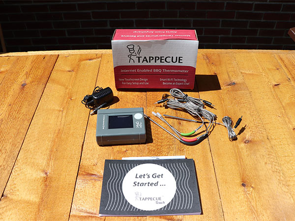 Tappecue Thermometer with probes