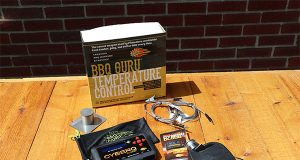 CyberQ Cloud BBQ Guru and attachments