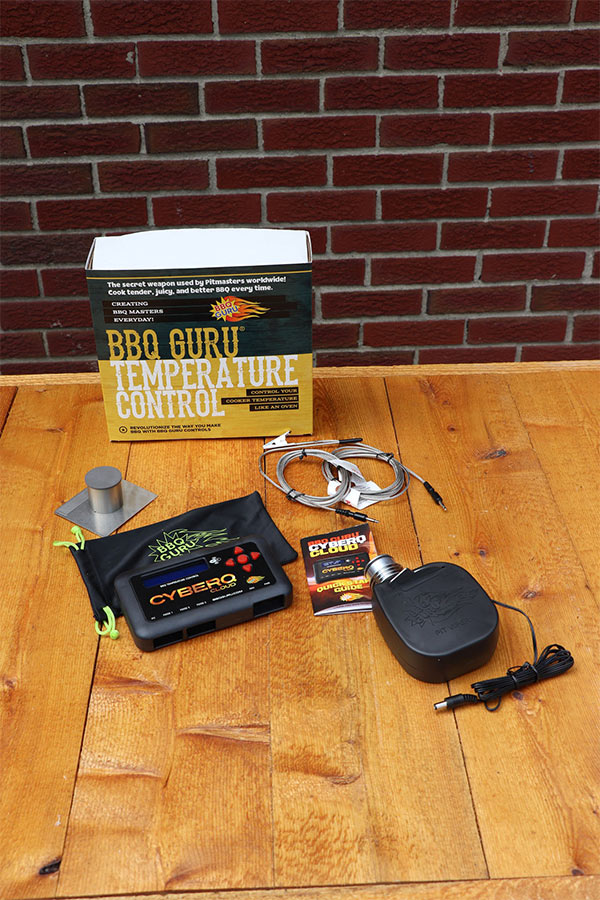 CyberQ Cloud BBQ Guru with attachments