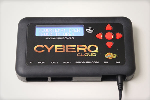 CyberQ Cloud BBQ Guru control unit