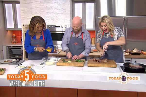 Matthew Eads on Today Show with Hoda Kotb and Heather McMahan