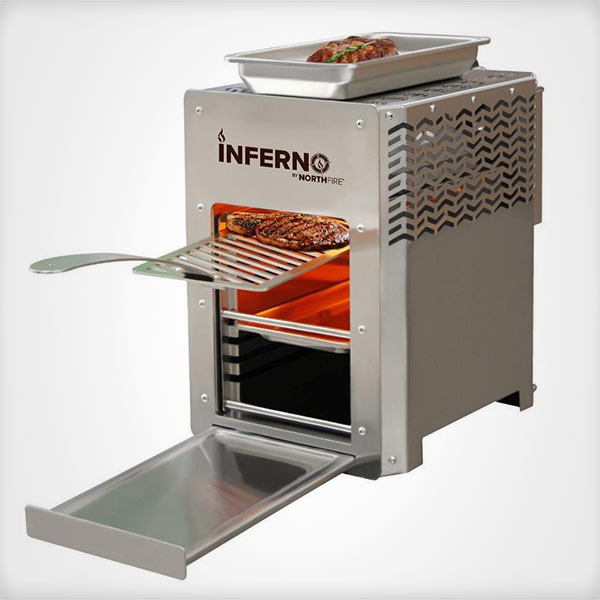 Northfire Inferno Grill ready for cooking