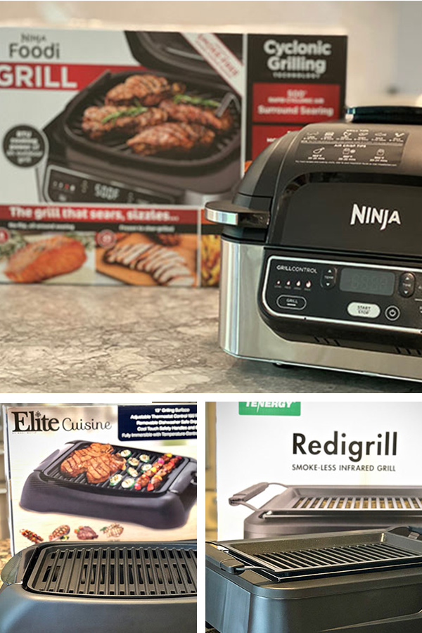 Electric grill round up with four grills