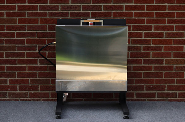 Stainless steel cover for the Space Grill