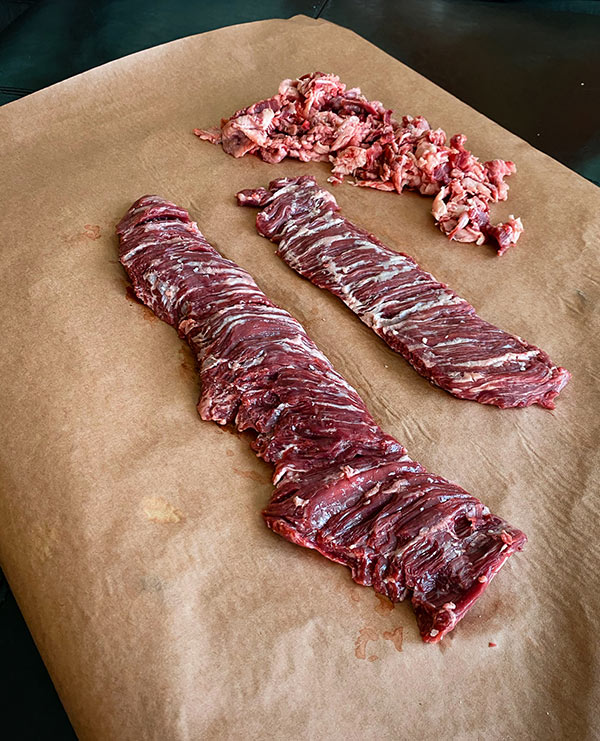 Skirt Steaks compared