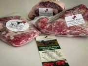 Vermont Wagyu meat selection