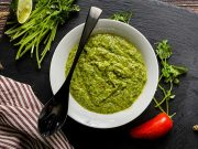 Avocado, Cilantro and Lime Vinaigrette made and ready to serve