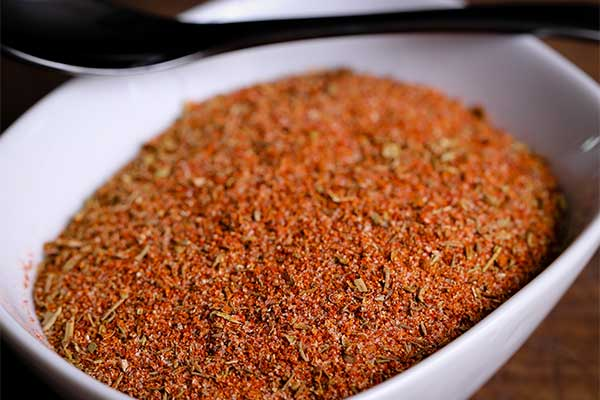 Homemade Creole Seasoning ready for use