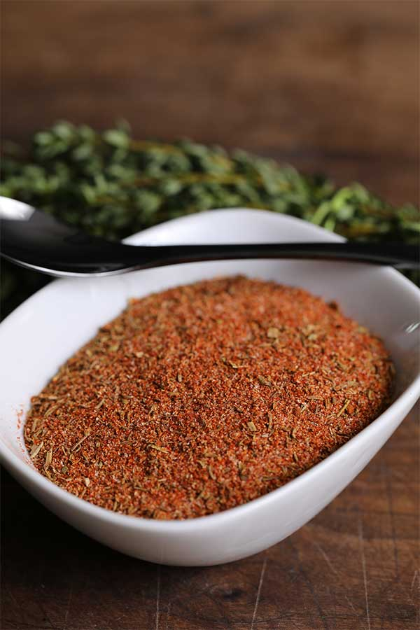 Creole Seasoning assembled and ready to use