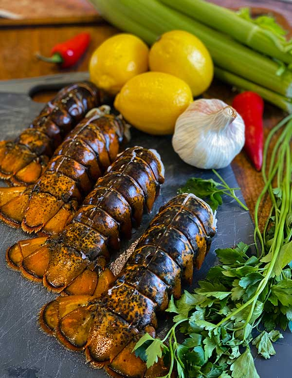 ingredients for Lobster and Chorizo Stuffing