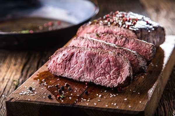 perfectly reverse seared steak